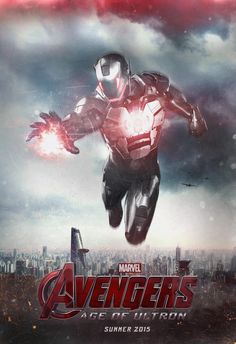"""New """"Avengers: Age of Ultron"""" Teaser Poster---wat"""
