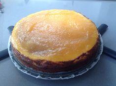 Lemon curd cheese cake