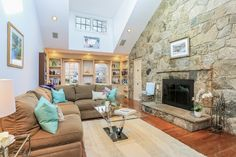 Check out this fireplace! #Cozy #home http://www.williampitt.com/search/real-estate-sales/11-harbor-road-darien-ct-06820-31427-1411591/