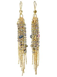 Shop Natasha Collis 18ct Yellow Gold Fringe Treasure Earrings in NATASHA COLLIS from the world's best independent boutiques at farfetch.com. Shop 400 boutiques at one address.