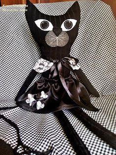 Ни минуты покоя: Игрушки своими руками. Черная кошка