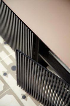 Sideboard with doors by Punt design Mario Ruiz Diy Furniture, Furniture Design, Furniture Dolly, Bibliotheque Design, Joinery Details, Dark Interiors, Cabinet Design, Custom Wood, Wood Doors