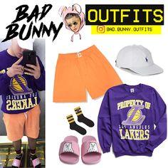 ef593f3232a65 Bad Bunny Outfits  Bad bunny Outfits (inspirado)