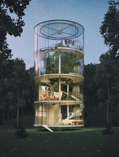 The World's Coolest Glass Treehouse Is in Kazakhstan