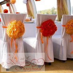 Бумажные помпоны. Праздничный декор. http://krasivie-svadbi.ru/