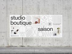 République Studio Typography Layout, Lettering, Layout Inspiration, Packaging Design Inspiration, Logos Retro, Poster Art, Web Design, Book Design Layout, Communication Design