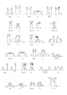 Exercises in pairs Kids Gym, Yoga For Kids, Gross Motor Activities, Indoor Activities, Yoga Stick Figures, Pe Ideas, Acrobatic Gymnastics, Baby Workout, Brain Gym