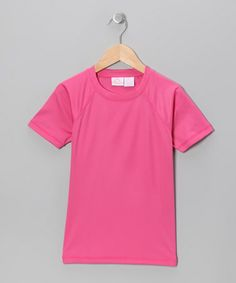 Take a look at this Pink Swim Tee  - Toddler & Girls by Kanu Surf on #zulily today!