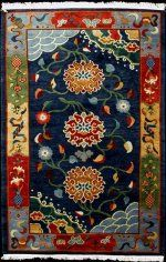 Hemphill's Rugs & Carpets features hand-knotted Tibetan rugs from both Tibet and Nepal. Our Tibetan rugs are excellent works of art. We also have the resources to custom design or custom color existing designs.