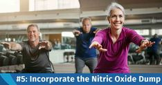 The Nitric Oxide Dump workout stimulates your body's release of nitric oxide (NO), improving your mitochondrial health, slowing down age-related muscle decline and boosting heart health. https://fitness.mercola.com/sites/fitness/archive/2018/01/05/four-minute-nitric-oxide-dump-workout.aspx?utm_source=dnl&utm_medium=email&utm_content=art1&utm_campaign=20180105Z1&et_cid=DM176645&et_rid=174464609