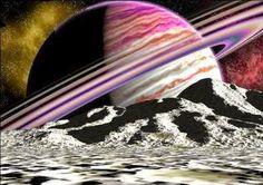 Fieggentrio: Planeet Saturnus: prachtige foto's