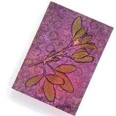 """""""Wild and Sweet"""" - a mixed media pocket journal on #Zibbet - Sold."""