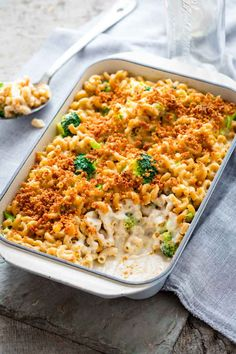 Macaroni and Cheese with Broccoli   Vegetarian   Whole Grain   Casserole   Kid Friendly   Comfort Food  Healthy Seasonal Recipes   Katie Webster