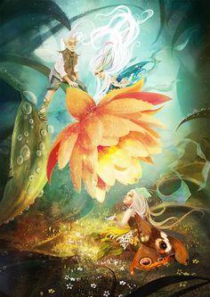 flower fairies by irish-blackberry.deviantart.com on @DeviantArt