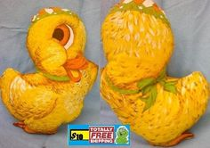 Vintage children's duck pillow $10.50