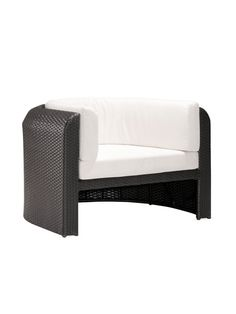 Noronha Armchair and Ottoman (2 PC) by Zuo at Gilt