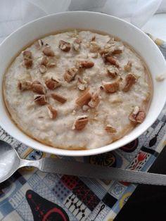 Twitter / porridgelady: Creamy maple syrup & pecan ...