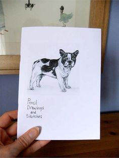 Art Zine  pencil drawings and sketches dogs, chicken, portraits