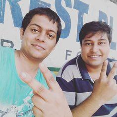 With @visheshsaran !! #youRock :P