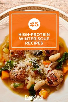 Fresco, Easy Mediterranean Diet Recipes, Healthy Soup Recipes, Lunch Recipes, Soups And Stews, Healthy Eating, Cold Weather, Omad Diet, Chicken Soups