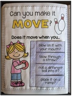 You'll be moving & grooving with these FUN and engaging Force and Motion activities that are geared for kids in Kindergarten and First Grade!