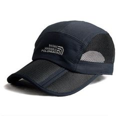 51fc0d2c95c49 2016 Summer Style Foldable Brand Baseball Cap Not Wrinkle Outdoor Sports