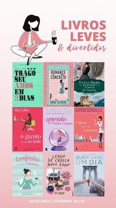 15 Livros divertidos para ler na quarentena Cool Books, I Love Books, Books To Read, My Books, Book Club Books, Book Lists, The Book, Book Suggestions, Book Recommendations