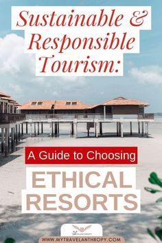 Click here to find out everything you need to know to find sustainable resorts and ethical resorts for your next trip. Learn to travel sustainably and ethically and choose hotels that align with your values. #mytravelanthropy #travelanthropy #sustainability #ethicaltravel #sustainabletravel | sustainable hotels sustainability | sustainable luxury hotel | ethical hotel | sustainable travel tips | sustainable traveling | ethical travel tips | ethical traveling | sustainable living for… Sustainable Tourism, Sustainable Living, All Inclusive Resorts, Luxury Resorts, Senior Citizen Housing, Travel Guides, Travel Tips, Responsible Travel, Solo Travel