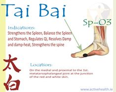 Tai Bai – Sp-03 | Active Health Foundation