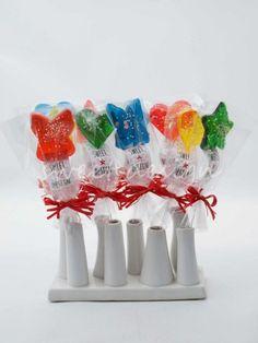 Piruletas Temáticas en colores variados | Sweet Design