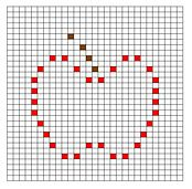 Ravelry: Apple Bobble Chart pattern by Kari Philpott