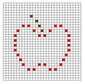 Ravelry: Apple Bobble Chart pattern by Kari Philpott