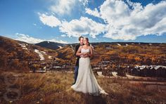 Mountain fall wedding in Vail, CO