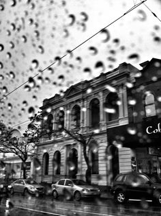 Raining in northcote