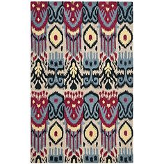Safavieh Ikat Collection IKT466A Handmade Wool Area Rug, 4-Feet by 6-Feet, Beige and Blue Safavieh http://www.amazon.com/dp/B00BHOY9IC/ref=cm_sw_r_pi_dp_7nKKub0FAQWHB