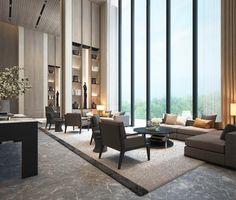 CR Land Residence - Shenzhen - Interiors - SCDA