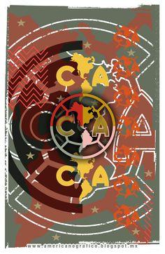 Club América #Arte #Azulcrema