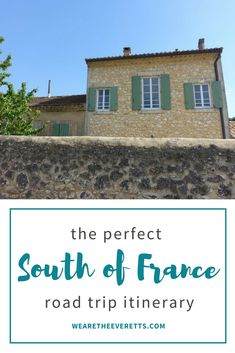 The Perfect South of France Road Trip Itinerary, beginning in Toulouse and including stops in the Gorges du Verdon, Nice, Monaco, Aix-en-Provence, Avignon, and Carcassonne - just to name a few! | We are the Everetts