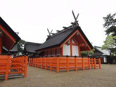 住吉大社, Sumiyoshi Taisha in Osaka.