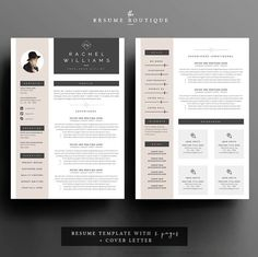 || PROMO CODE: 2 resumes for 25$, use code THERXB ||  Welcome to the Resume Boutique! We create templates that help you make a lasting: