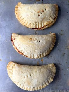 Apple Hand Pies (Dairy Free)