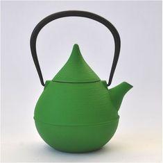 Japanese Nambu tekki iron teapot.