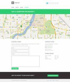 contact   WEB LAYOUT - CONTACT US   Pinterest   Web layout