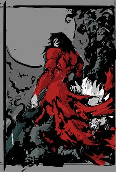 View an image titled 'Dracula Poster Rough Art' in our Castlevania: Lords of Shadow 2 art gallery featuring official character designs, concept art, and promo pictures. Castlevania Dracula, Castlevania Lord Of Shadow, Alucard, Castlevania Wallpaper, Character Art, Character Design, Lord Of Shadows, Shadow 2, Dark Artwork