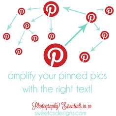Spread your posts quickly through pinterest....   Need i say more? With the right picture text, you don't even need a pin description!