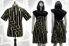 Batik dress, Modern and Models on Pinterest
