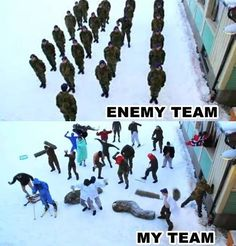 Me in any game...