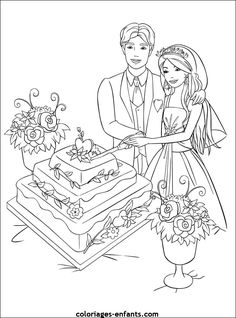 Discover recipes, home ideas, style inspiration and other ideas to try. Barbie Coloring Pages, Coloring Book Pages, Coloring Pages For Kids, Kids Table Wedding, Wedding With Kids, Disney Games For Kids, Wedding Coloring Pages, Coloring Pictures For Kids, Engagement Mehndi Designs