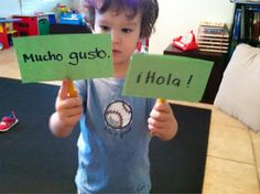 The Natural Homeschool: Spanish Lessons for Preschoolers (Part 1)