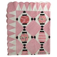 Check out this item at One Kings Lane! Japanese Lantern Quilt